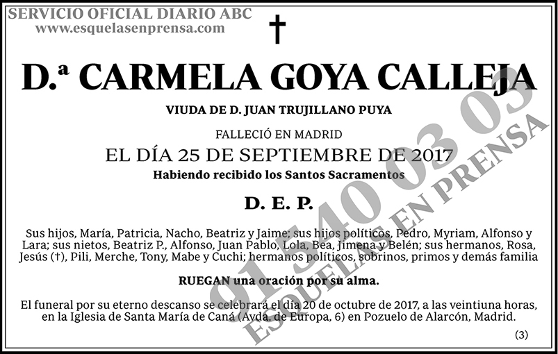 Carmela Goya Calleja